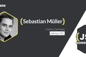 Talk: Reactive Angular 2 Applications with RxJS (by Sebastian Müller)
