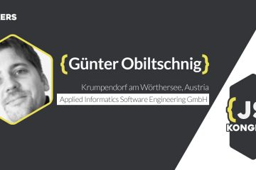 Talk: Connecting Sensors, Devices and Cloud Services with JavaScript and macchina.io (by Günter Obiltschnig)