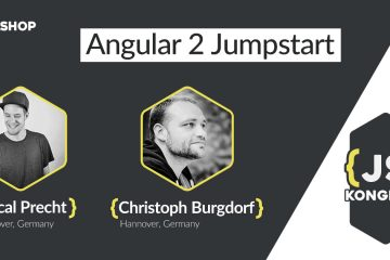 Angular 2 Jumpstart Workshop (by Pascal Precht & Christoph Burgdorf)