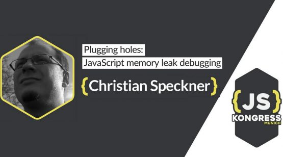 "Interview with our Speaker Christian Speckner about his Talk ""Plugging holes: JavaScript memory leak debugging"" at JS Kongress 2016"