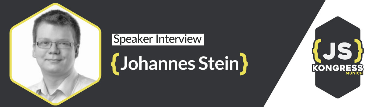 "Interview with our Speaker Johannes Stein about his Talk ""Let's create a React powered game in 25 minutes"" at JS Kongress 2016"