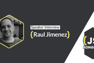 Speaker interview with Raul Jimenez
